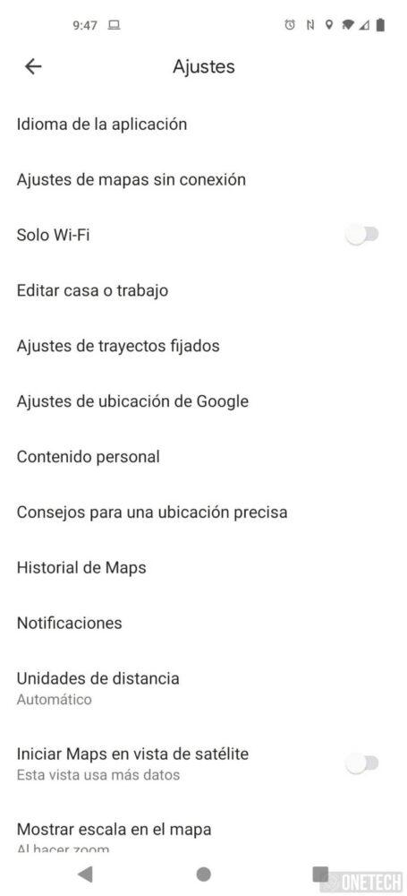 Google Maps permite cambiar el idioma de forma independiente del sistema 1