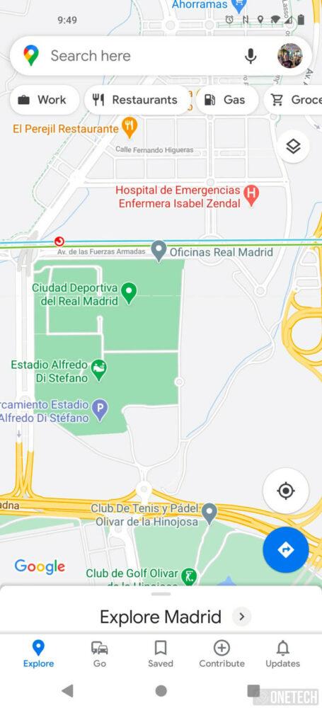 Google Maps permite cambiar el idioma de forma independiente del sistema 5