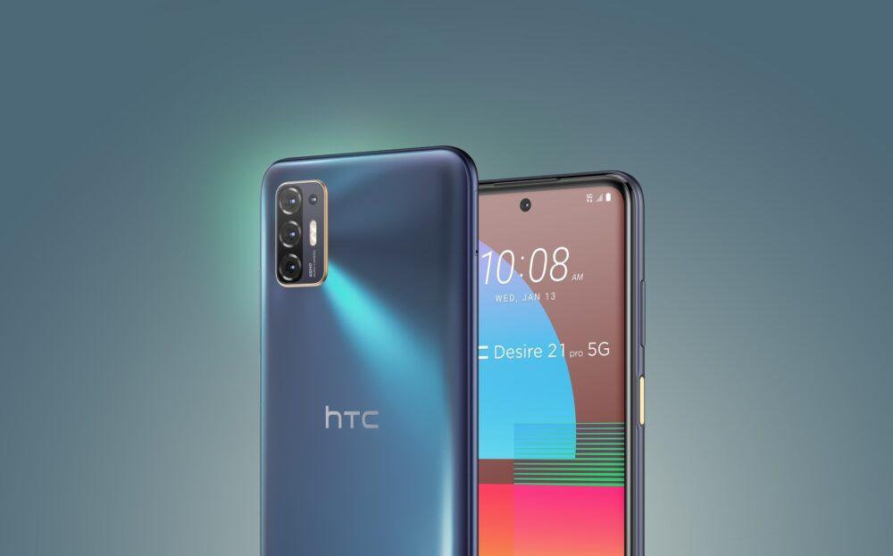 HTC sigue vivo y lanza el nuevo Desire 21 Pro con conectividad 5G 1