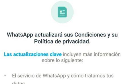 whatsapp condiciones de uso