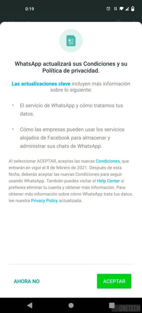 WhatsApp te obliga a compartir tus datos con Facebook si quieres seguir usándolo 10