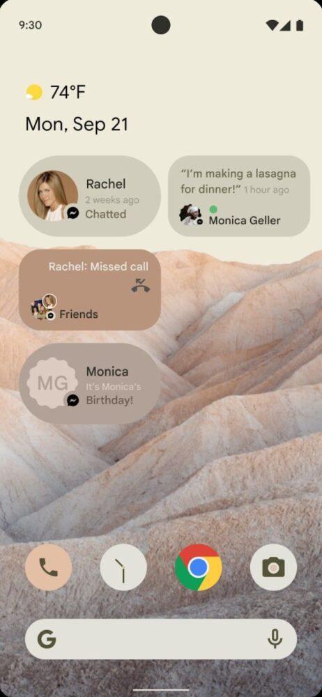 Android 12 podría traer un cambio de interfaz y ya tenemos imágenes 3