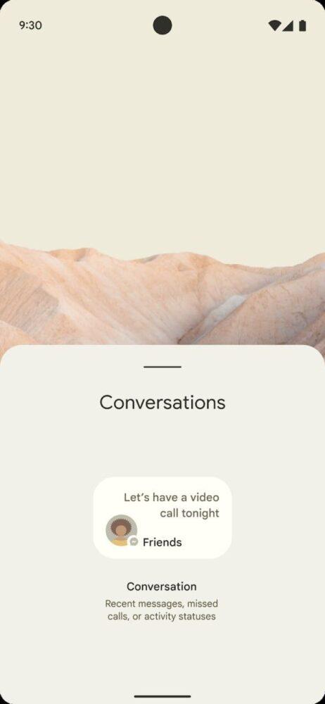 Android 12 podría traer un cambio de interfaz y ya tenemos imágenes 5