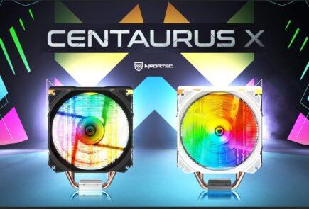 Nuevos Nfortec Centaurus X, disipadores con iluminación ARGB 2