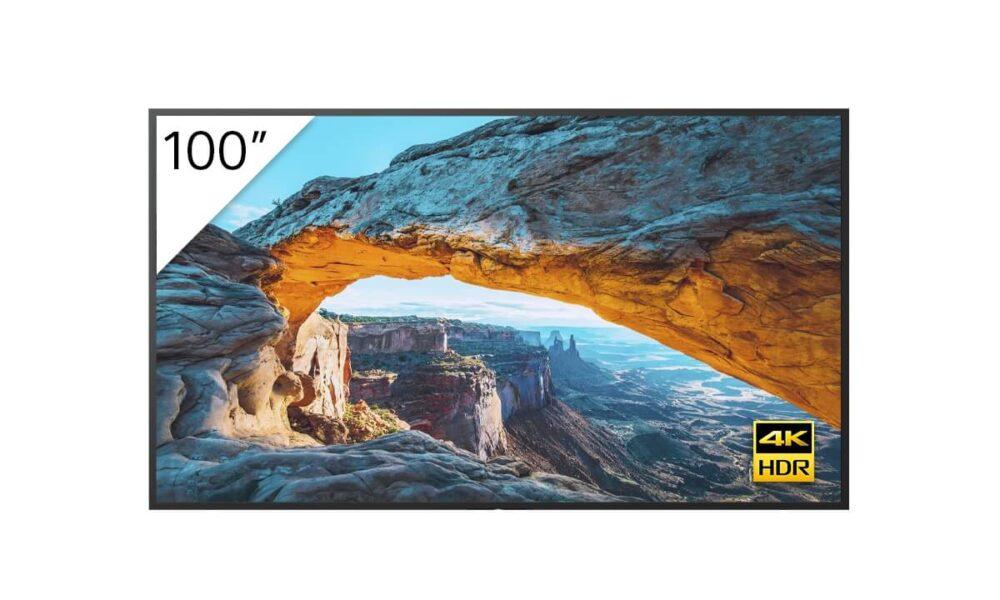 Sony presenta sus monitores Bravia de hasta 100 pulgadas 1