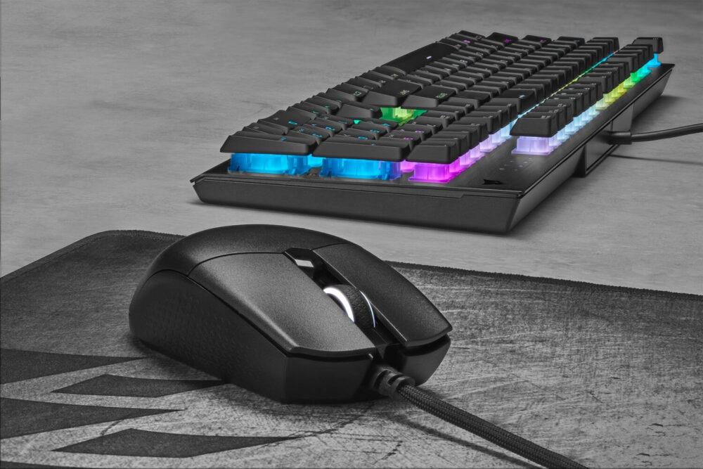 Corsair presenta su ratón gaming Katar PRO XT y la nueva alfombrilla MM700 RGB 11