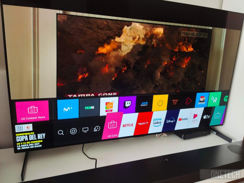 LG OLED55GX6LA un televisor para disfrutar del mejor cine - Análisis 6
