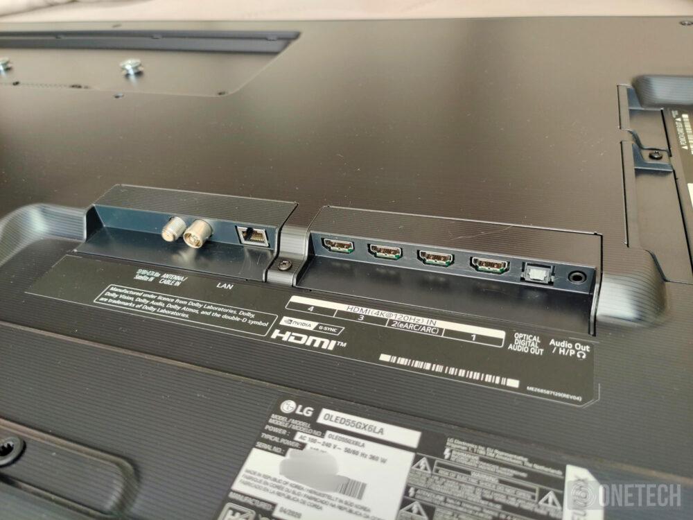 LG OLED55GX6LA un televisor para disfrutar del mejor cine - Análisis 1