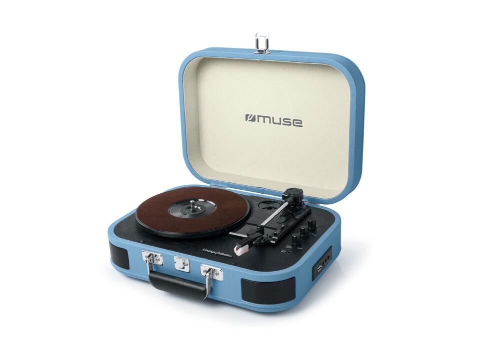 Muse MT-201, un tocadiscos vintage para tus vinilos con conexión Bluetooth y USB 2