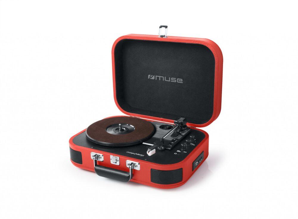 Muse MT-201, un tocadiscos vintage para tus vinilos con conexión Bluetooth y USB 1