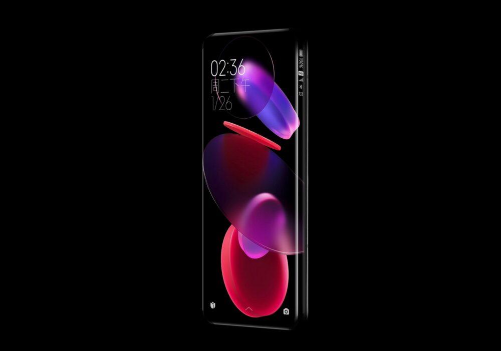 Xiaomi presenta un Concept Phone con pantalla en cascada en sus cuatro lados 2