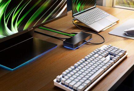 Amplia tu productividad con el nuevo Razer Thunderbolt 4 Dock Chroma 1