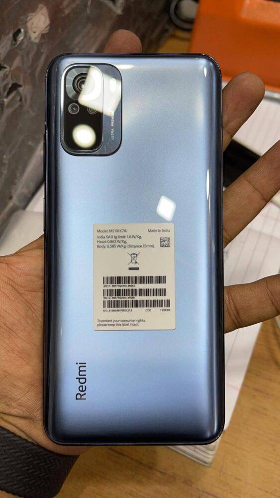 Primeras imágenes reales confirman pantalla Amoled para el Redmi Note 10 y otros detalles 10
