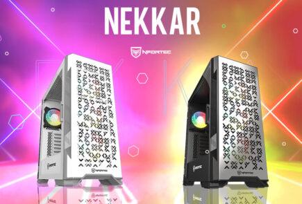 Nekkar, así es la nueva caja con frontal mallado de Nfortec 2