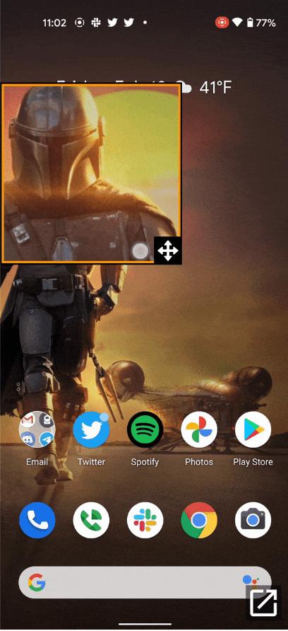 Android 12 permite ampliar solo una zona de la pantalla 3