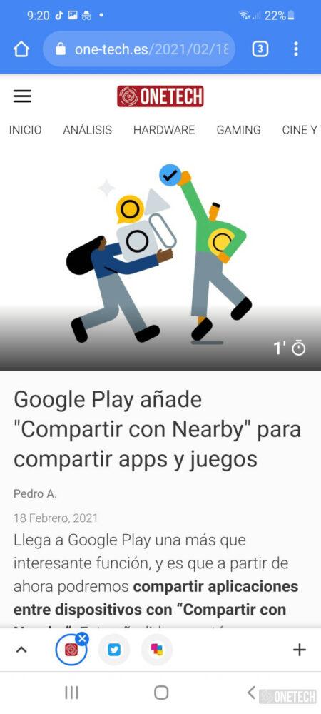 Chrome en Android amplia la disponibilidad de las cuadriculas de grupos de pestañas 3