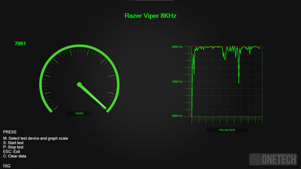 Razer Viper 8K Hz, el ratón más rápido pasa por nuestras manos - Análisis 2