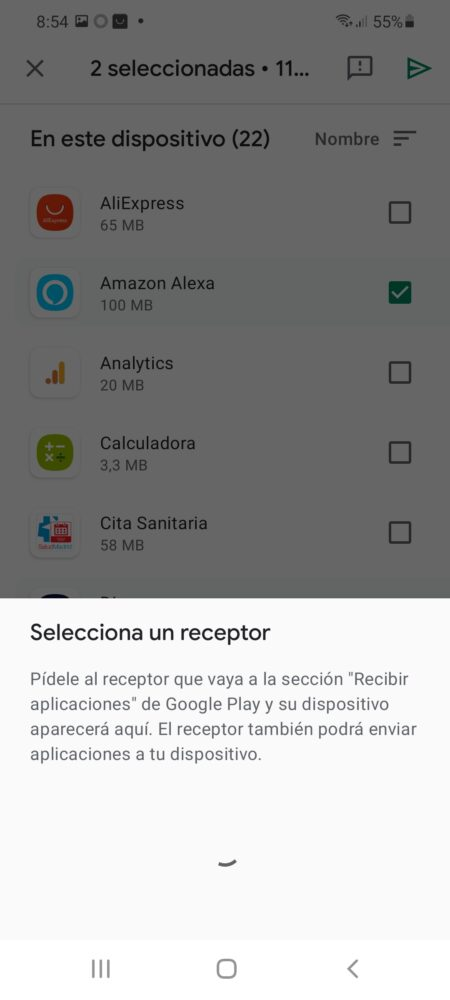 "Google Play añade ""Compartir con Nearby"" para compartir apps y juegos 5"