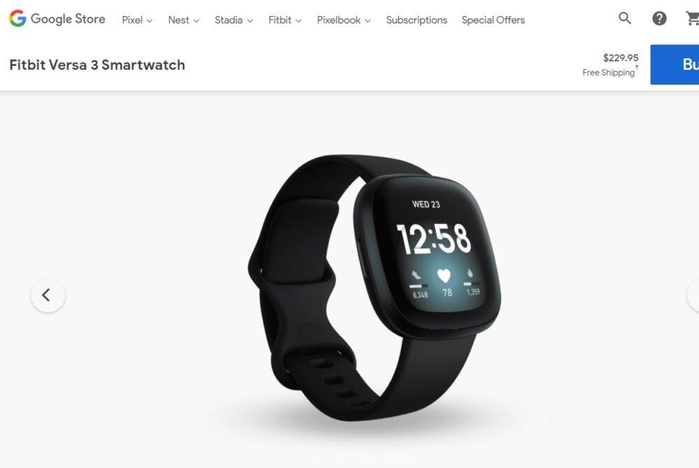 Google comienza a vender los dispositivos Fitbit en su tienda 2