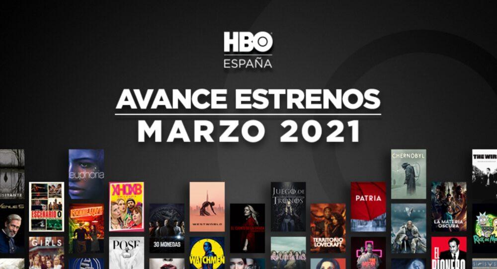 estrenos de HBO para Marzo de 2021