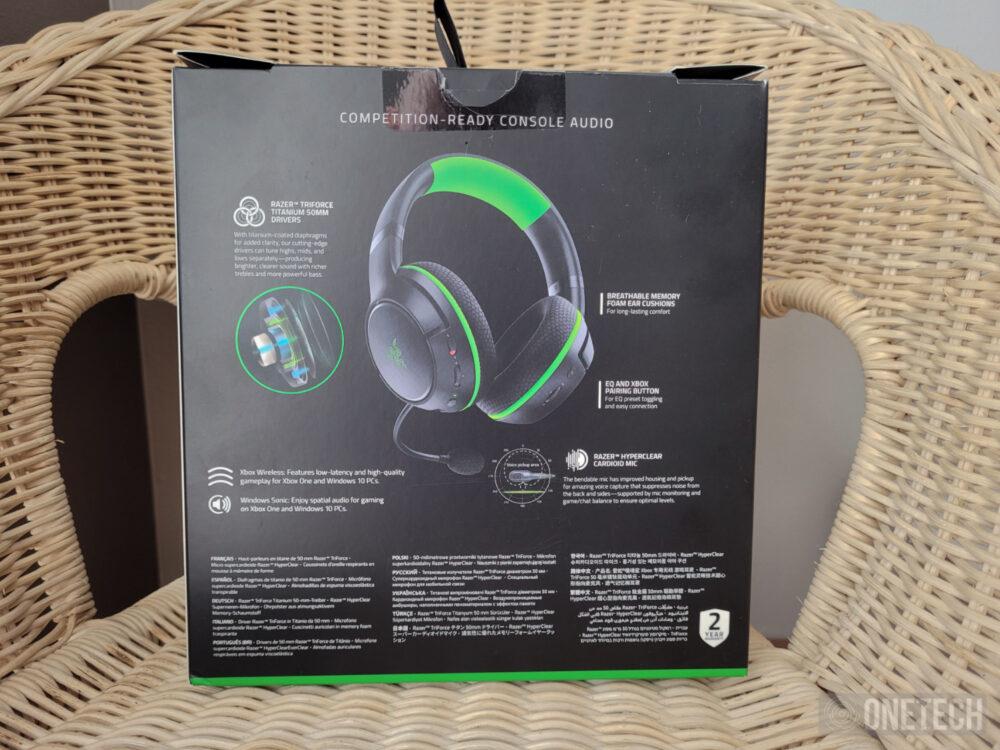 Razer Kaira, auriculares para Xbox Series y Xbox One - Análisis 3