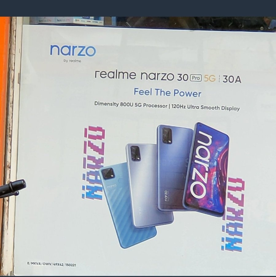 El Realme Narzo 30 Pro 5G es confirmado (y mostrado) oficialmente en India 10