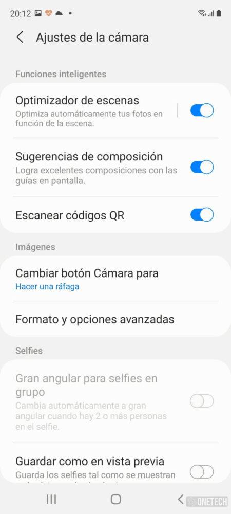Samsung Galaxy S20 FE 5G, buscando el equilibrio entre calidad y precio - Análisis 19
