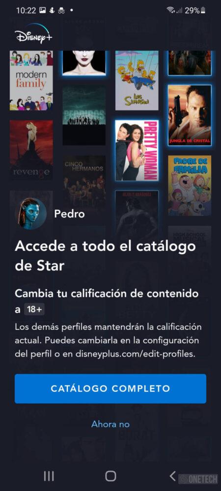 Star ya está disponible en Disney Plus y se activa el control parental 2