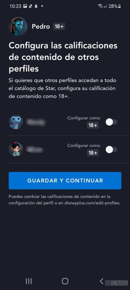 Star ya está disponible en Disney Plus y se activa el control parental 4