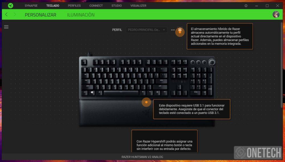 Razer Huntsman V2 Analog, un teclado que puede marcar la diferencia - Análisis 10