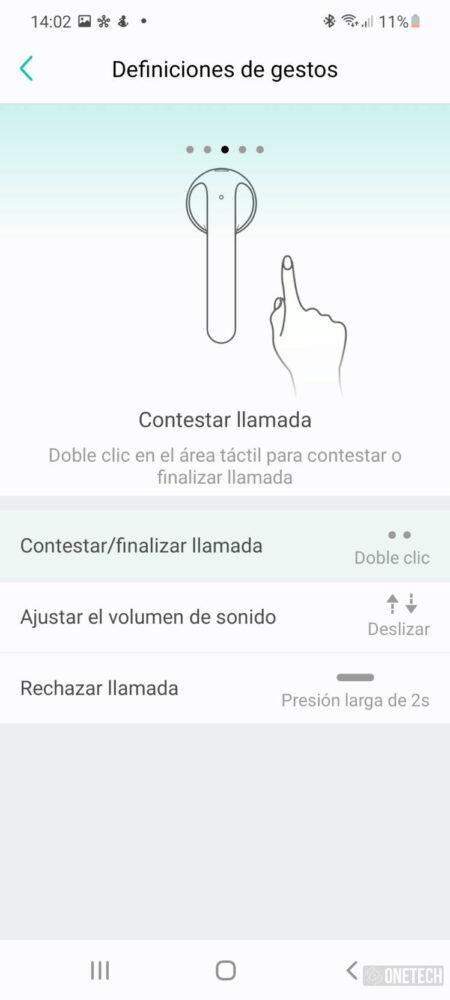 TicPods 2 Pro+, los auriculares que controlas con gestos - Análisis 15