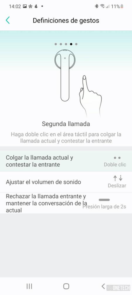 TicPods 2 Pro+, los auriculares que controlas con gestos - Análisis 14