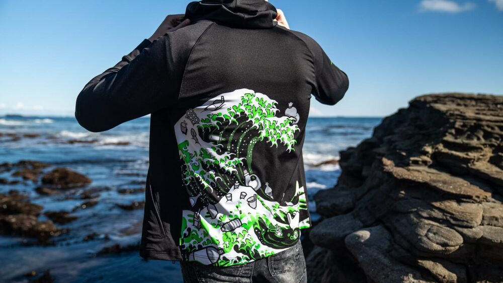 Razer apuesta por la ecología con una colección de ropa realizada con plásticos recuperados del mar 1
