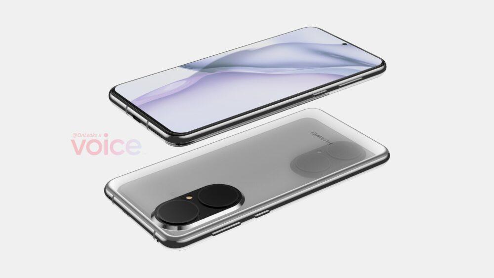 Se filtran renders de los Huawei P50 y Huawei P50 Pro 1