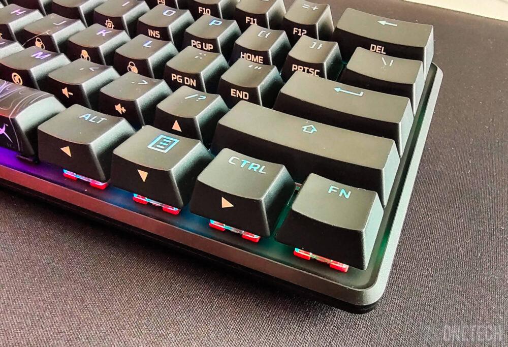 HyperX Alloy Origins 60, un teclado compacto para gamers - Análisis 30