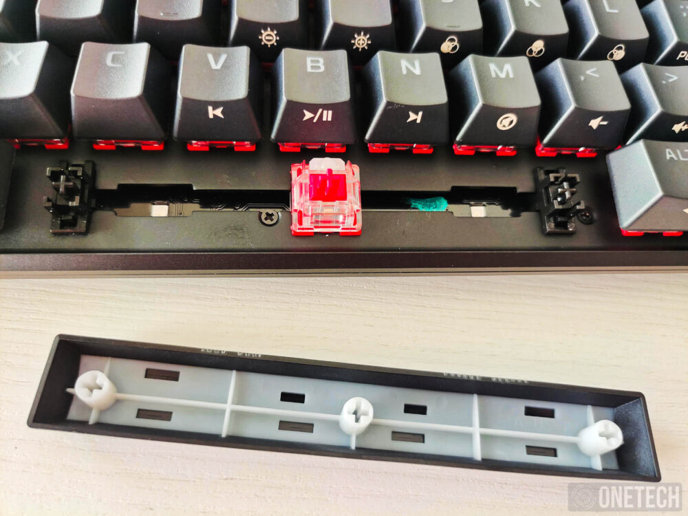 HyperX Alloy Origins 60, un teclado compacto para gamers - Análisis 6