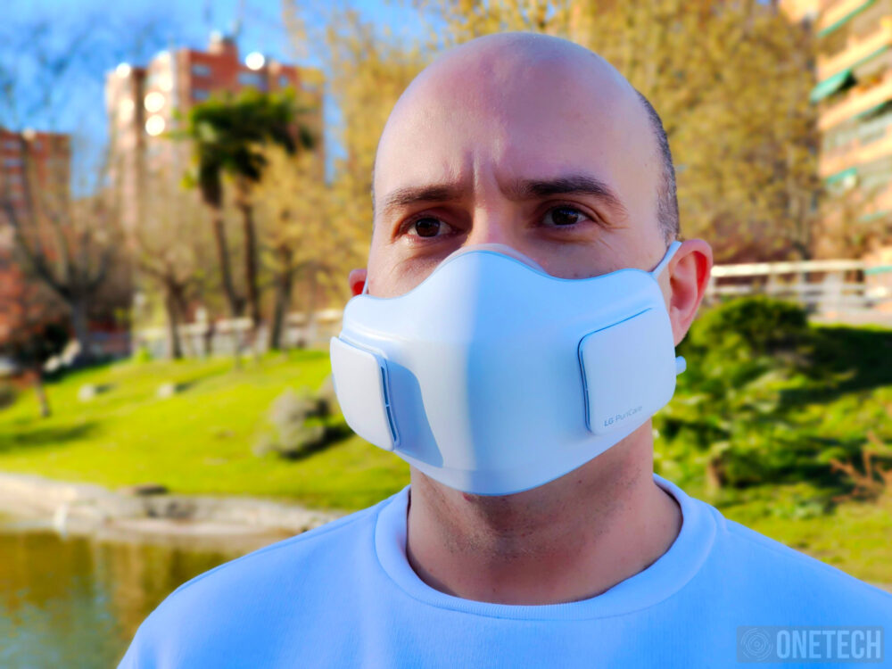 LG Puricare Air Purifying Mask, probamos la mascarilla con filtros HEPA de LG - Análisis 29