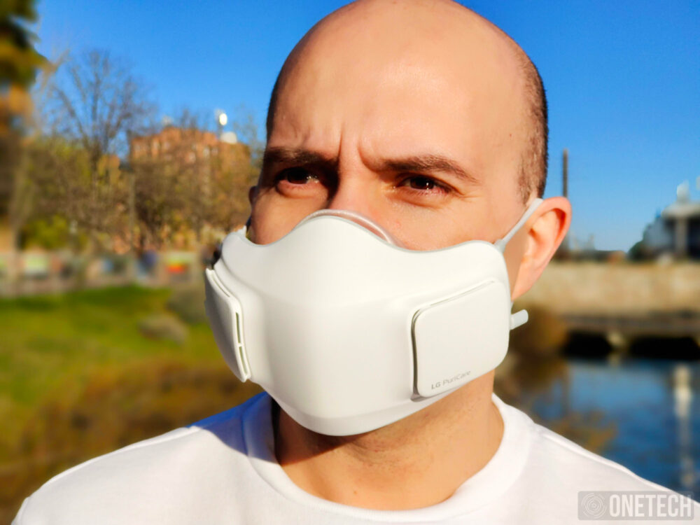 LG Puricare Air Purifying Mask, probamos la mascarilla con filtros HEPA de LG - Análisis 9