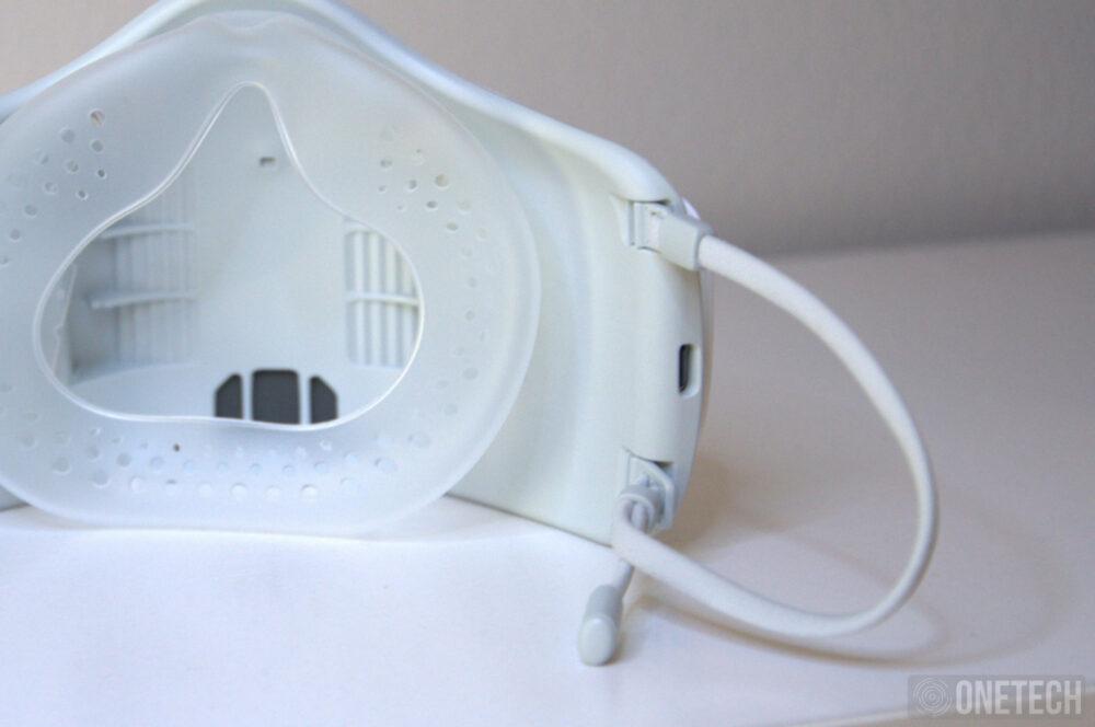 LG Puricare Air Purifying Mask, probamos la mascarilla con filtros HEPA de LG - Análisis 14
