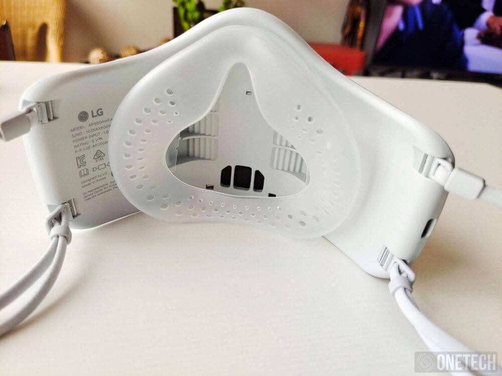 LG Puricare Air Purifying Mask, probamos la mascarilla con filtros HEPA de LG - Análisis 5