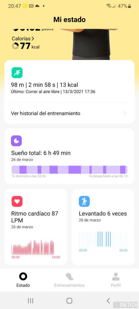 Xiaomi Mi Watch Lite, el enemigo de la Mi Band está en casa - Análisis 10