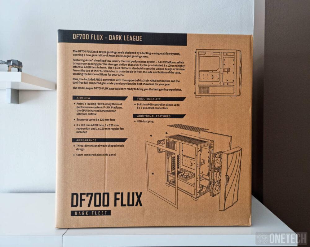 Caja Antec DF700 FLUX - Análisis 2