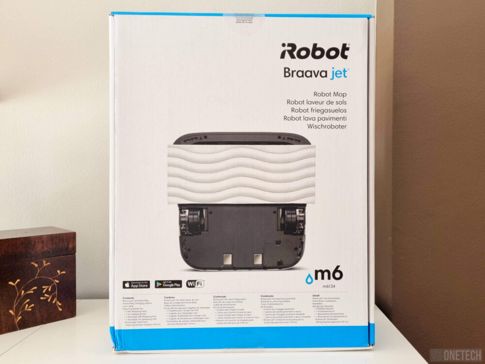 iRobot Braava jet m6, el mejor compañero de tu Roomba - Análisis 3