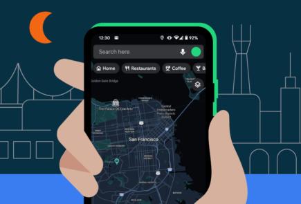 El tema oscuro de Google Maps comienza a estar disponible para todos 5