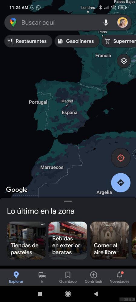 El tema oscuro de Google Maps comienza a estar disponible para todos 3