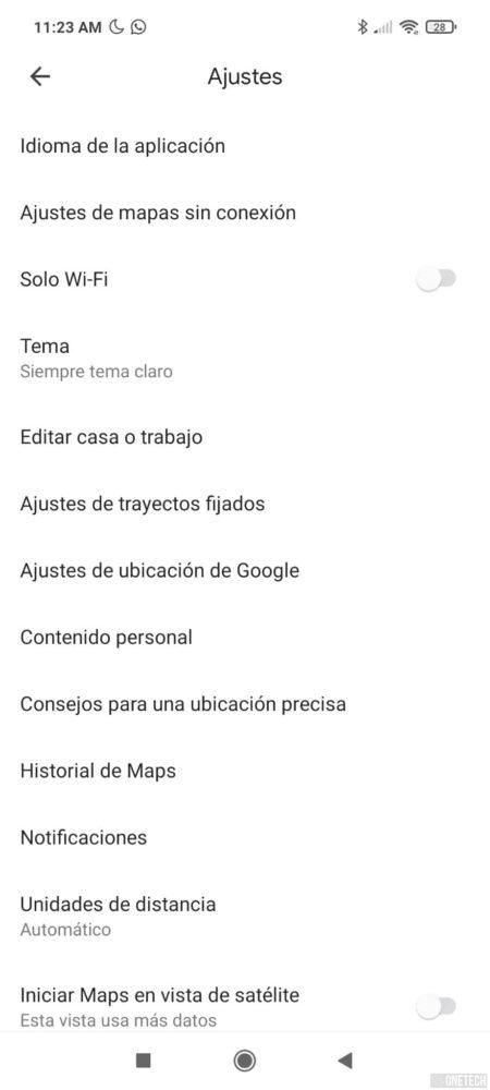 El tema oscuro de Google Maps comienza a estar disponible para todos 4