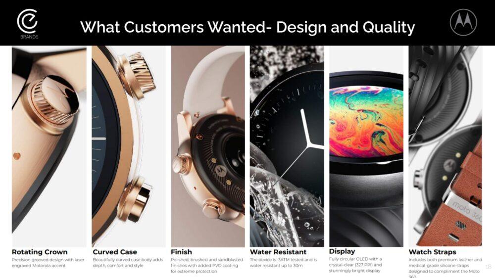 Motorola - CEBrands: Moto G, Moto Watch y Moto One