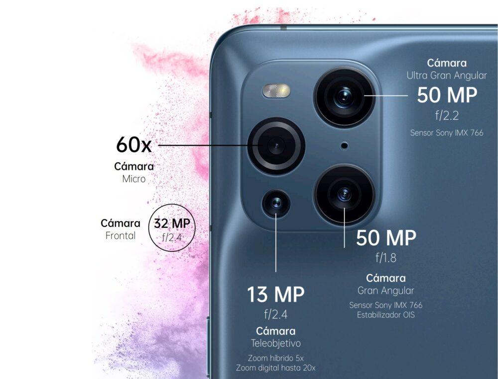 OPPO Find X3 Pro 5G: doble cámara de 50MP y Macro de 60 aumentos, con la potencia Snapdragon 888 2