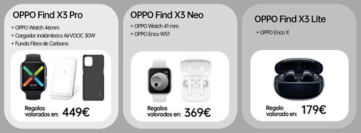 Orange ya ofrece los nuevos OPPO Find X3 en su catalogo 2