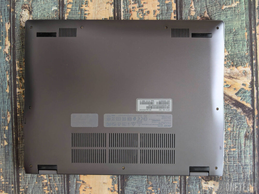 Acer Chromebook Spin 713 CP713-2W - Análisis 3